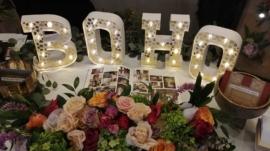 Wedding Flower Exhibition - Boho