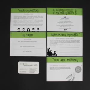 Door knocking promotional envelope info