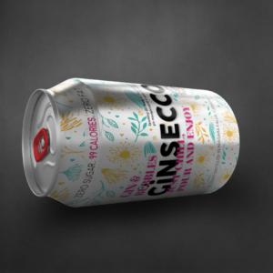 Gin & Bubbles Ginsecco - Side