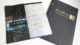 Hong Shing Take–Out and Dine–In Menu
