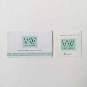 VW Kitchen Branding