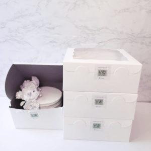 Cake / Take-out box with VW sticker