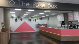 The poke box - store front