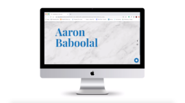 Aaron Baboolal Blog Site