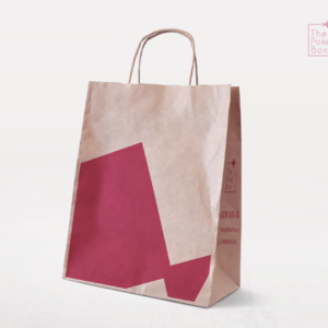 Simple one color tone take-out bag