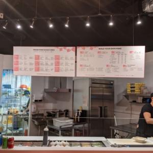 Markham Location - 2 horizontal menus (frontal shot)