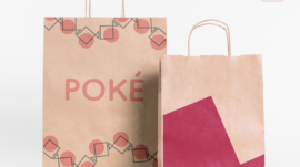 Version 1 and Version 2 take-out bag design
